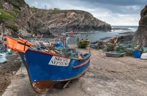 <b>Small fishing harbours Series: Porto das Barcas</b>